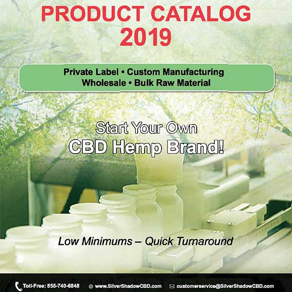 Wholesale CBD Oil Catalog