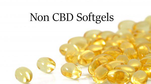 Non CBD Softgels